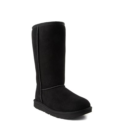 Alternate view of UGG® Classic Tall II Boot - Little Kid / Big Kid - Black