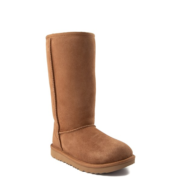 alternate view UGG® Classic Tall II Boot - Little Kid / Big Kid - ChestnutALT1