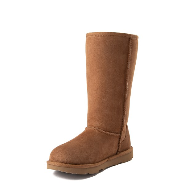alternate view UGG® Classic Tall II Boot - Little Kid / Big Kid - ChestnutALT3