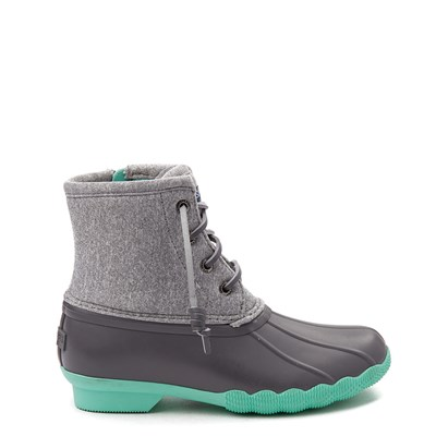Main view of Sperry Top-Sider Saltwater Boot - Little Kid / Big Kid - Gray