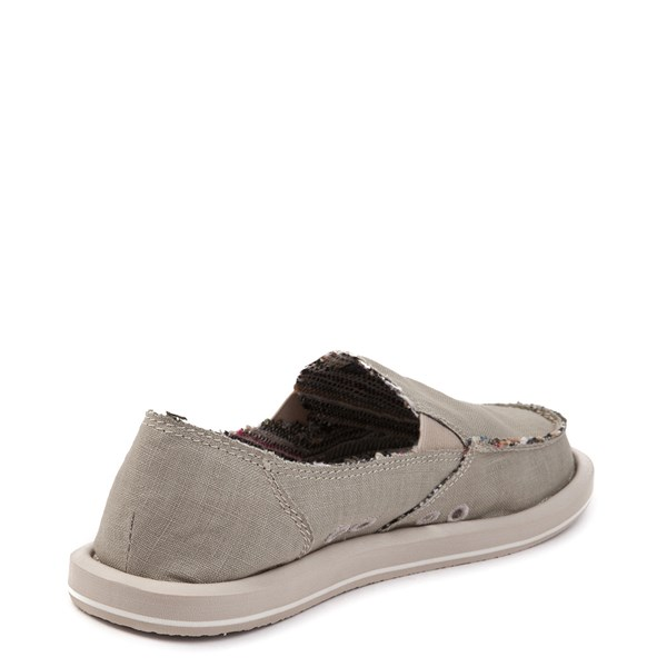 alternate view Womens Sanuk Donna Hemp Slip On Casual ShoeALT2
