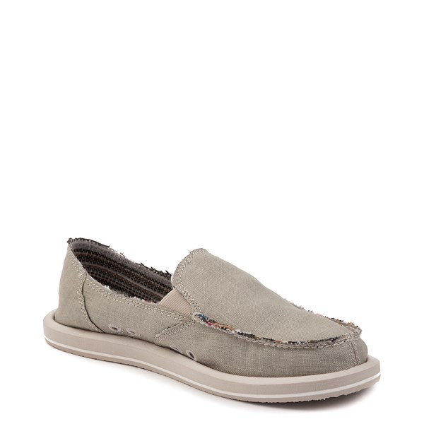 alternate view Womens Sanuk Donna Hemp Slip On Casual ShoeALT3