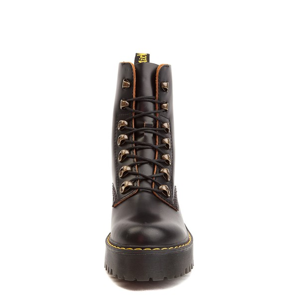 alternate view Womens Dr. Martens Leona Platform Boot - BlackALT4