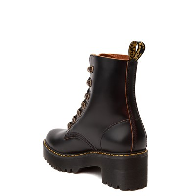 Alternate view of Womens Dr. Martens Leona Platform Boot - Black