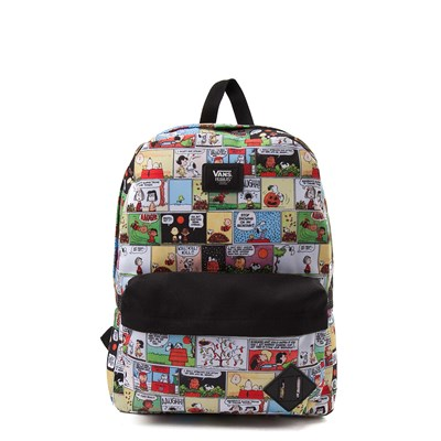 Main view of Vans Peanuts Comic Strip Backpack