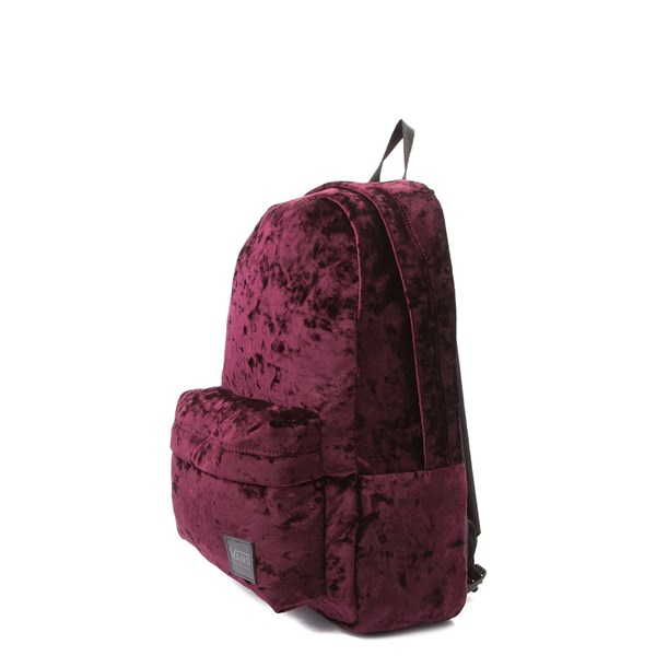 alternate view Vans Deanna Crushed Velvet BackpackALT2
