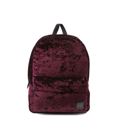 Main view of Vans Deanna Crushed Velvet Backpack