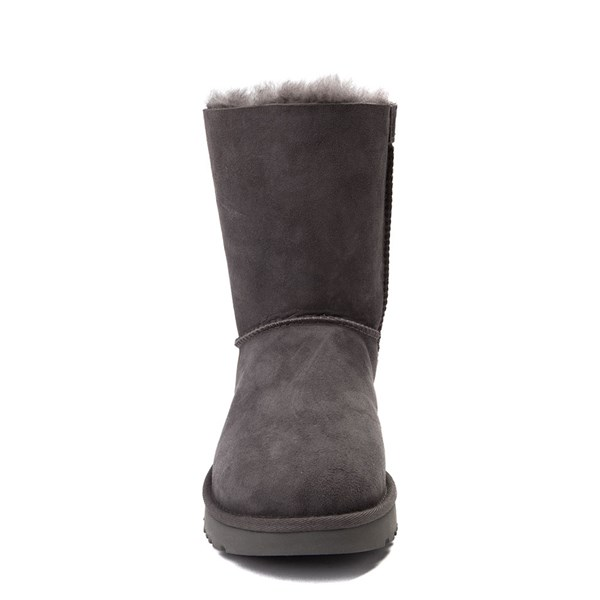 alternate view Womens UGG® Bailey Bow II Boot - GrayALT4