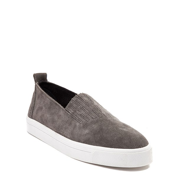 Alternate view of Womens Minnetonka Gabi Suede Slip-On Casual Shoe