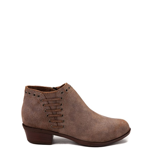 Main view of Womens Minnetonka Brenna Ankle Boot - Brown