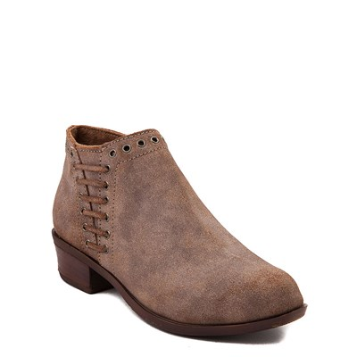 Alternate view of Womens Minnetonka Brenna Ankle Boot - Brown