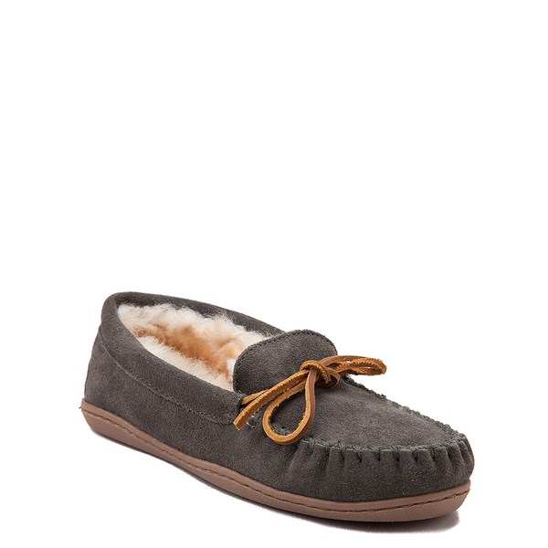 Alternate view of Womens Minnetonka Sheepskin Hardsole Moc Slipper