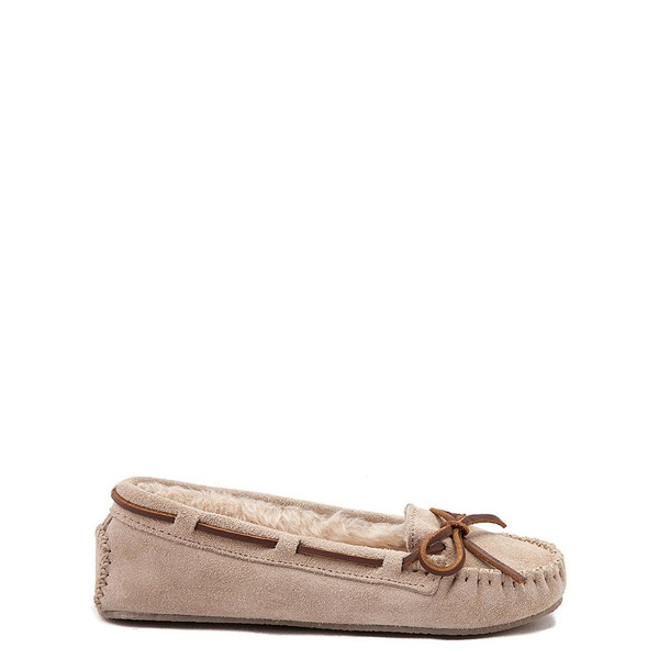 Main view of Womens Minnetonka Cally Casual Shoe - Stone