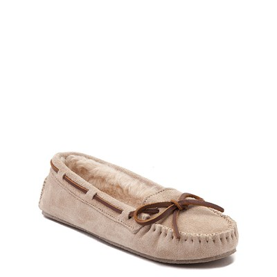 Alternate view of Womens Minnetonka Cally Casual Shoe - Stone