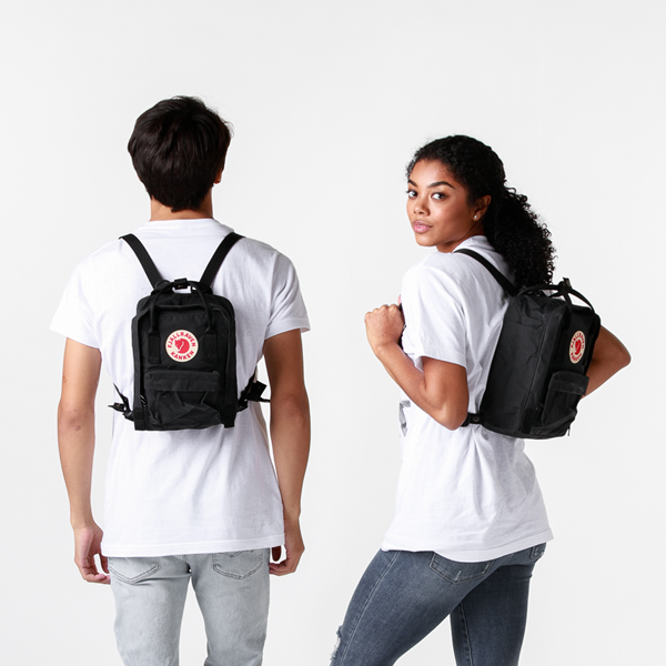 alternate view Fjallraven Kanken Mini Backpack - BlackALT1BADULT