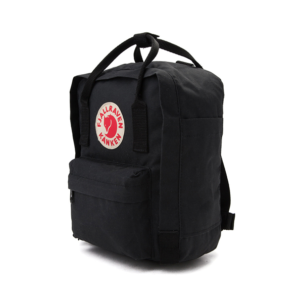 alternate view Fjallraven Kanken Mini Backpack - BlackALT4