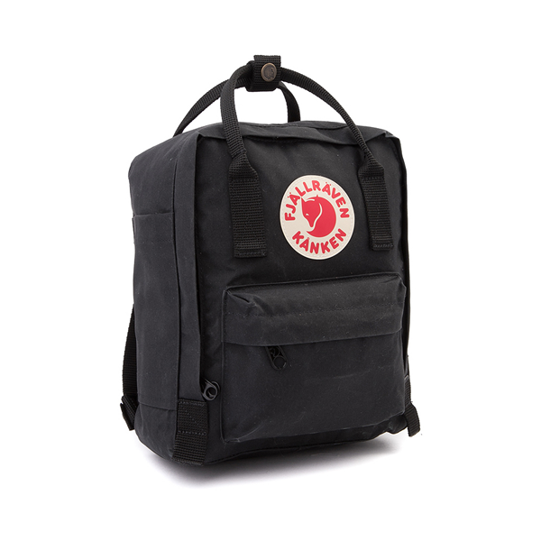 alternate view Fjallraven Kanken Mini Backpack - BlackALT4B