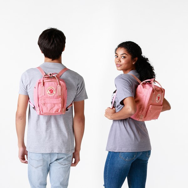 alternate view Fjallraven Kanken Mini Backpack - PinkALT1BADULT