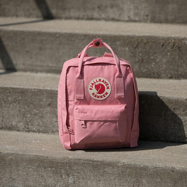 alternate view Fjallraven Kanken Mini Backpack - PinkALT1BB
