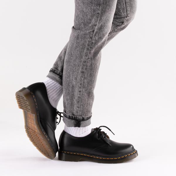 alternate view Womens Dr. Martens 1461 Casual Shoe - BlackB-LIFESTYLE1