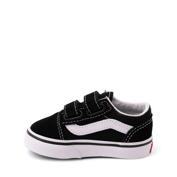 alternate view Vans Old Skool V Skate Shoe - Baby / Toddler - BlackALT1