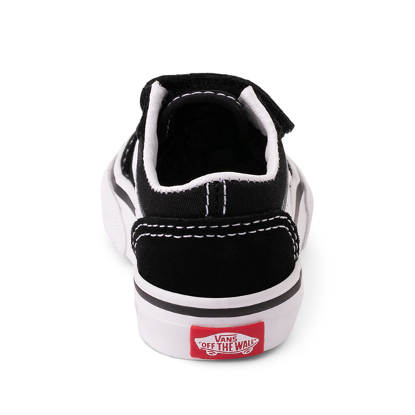 alternate view Vans Old Skool V Skate Shoe - Baby / Toddler - BlackALT4