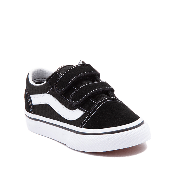 alternate view Vans Old Skool V Skate Shoe - Baby / Toddler - BlackALT5