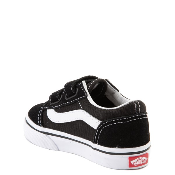 alternate view Vans Old Skool V Skate Shoe - Baby / Toddler - Black / WhiteALT2
