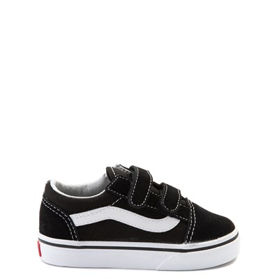 Main view of Vans Old Skool V Skate Shoe - Baby / Toddler - Black