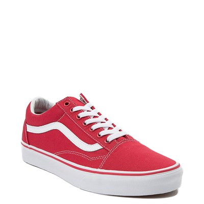 Alternate view of Red Vans Old Skool Skate Shoe