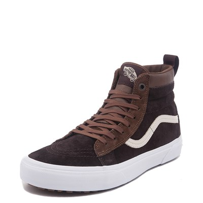 Alternate view of Brown Vans Sk8 Hi MTE Skate Shoe