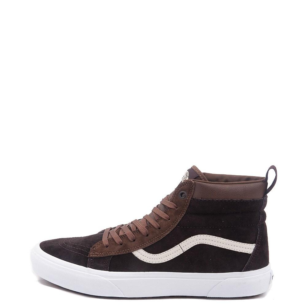 Brown Vans Sk8 Hi MTE Skate Shoe