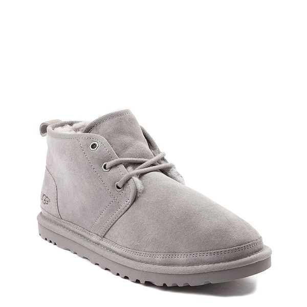 alternate view Womens UGG® Neumel Short Boot - Light GrayALT1