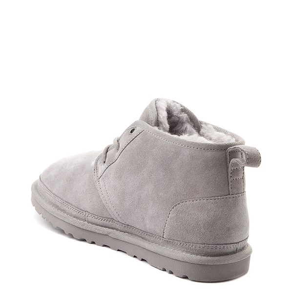 alternate view Womens UGG® Neumel Short Boot - Light GrayALT2