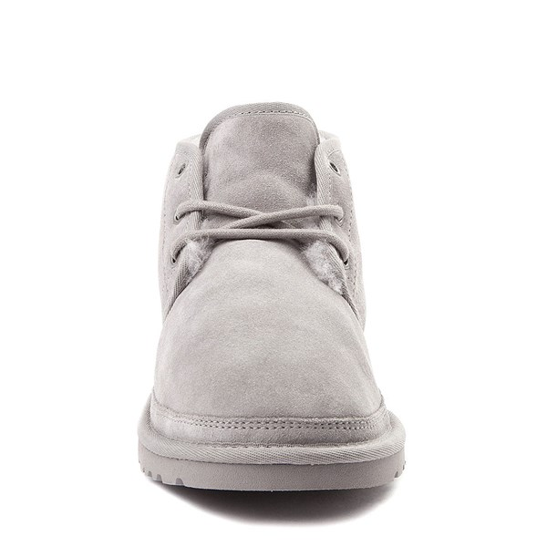 alternate view Womens UGG® Neumel Short Boot - Light GrayALT4