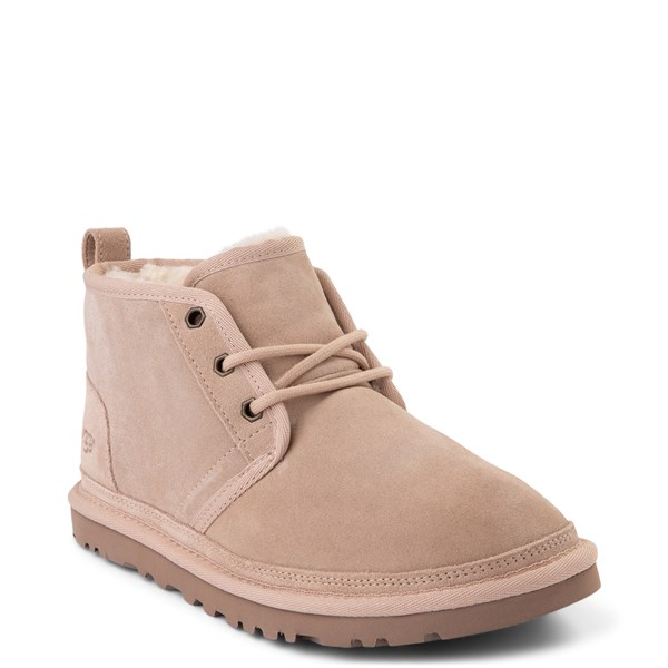 alternate view Womens UGG® Neumel Short Boot - Light BeigeALT1