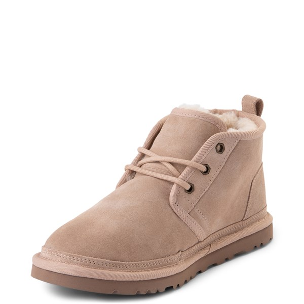 alternate view Womens UGG® Neumel Short Boot - Light BeigeALT3