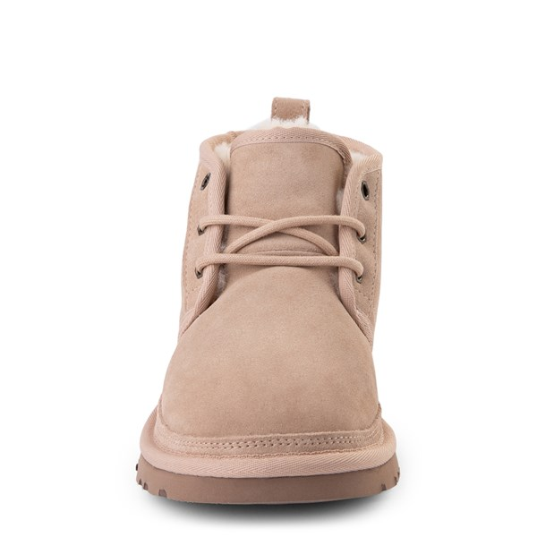 alternate view Womens UGG® Neumel Short Boot - Light BeigeALT4