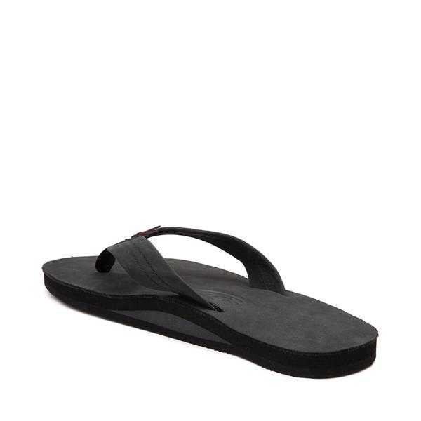 alternate view Mens Rainbow 301 Leather Sandal - BlackALT1