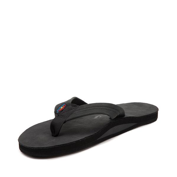 alternate view Mens Rainbow 301 Leather Sandal - BlackALT2