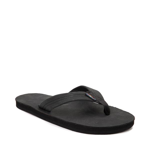 alternate view Mens Rainbow 301 Leather Sandal - BlackALT5