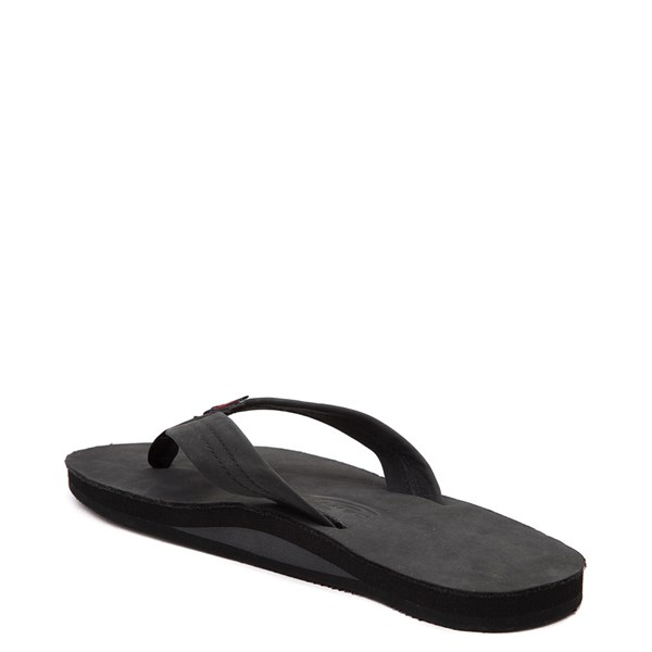 alternate view Mens Rainbow 301 Leather Sandal - BlackALT2