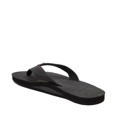 Alternate view of Mens Rainbow 301 Leather Sandal - Black