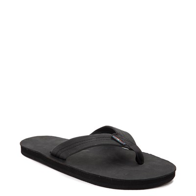 Alternate view of Mens Rainbow 301 Leather Sandal - Black