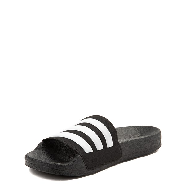 alternate view adidas Adilette Shower Slide Sandal - Little Kid / Big KidALT3