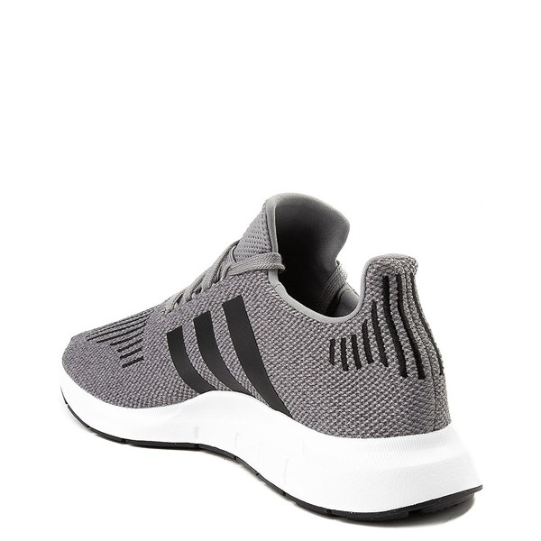 alternate view Mens adidas Swift Run Athletic Shoe - GrayALT2