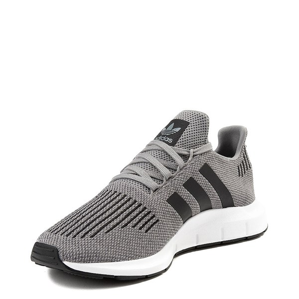 alternate view Mens adidas Swift Run Athletic Shoe - GrayALT3