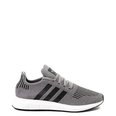 Main view of Mens adidas Swift Run Athletic Shoe - Gray