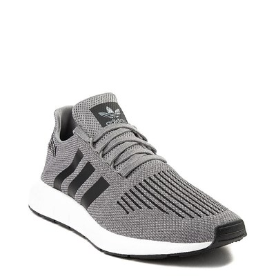 Alternate view of Mens adidas Swift Run Athletic Shoe - Gray