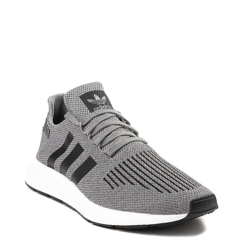 Mens adidas Swift Run Athletic Shoe - Gray | Journeys